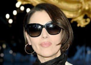Fashion Week Monica Bellucci taglio corto