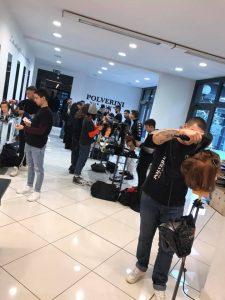 offerte lavoro parrucchiere firenze con Polverini Hair Academia